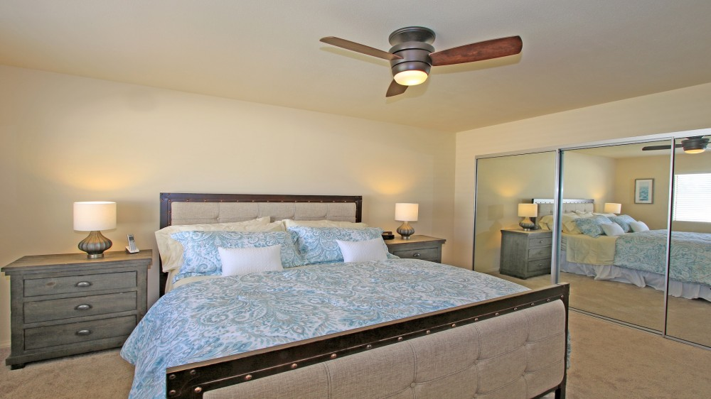 King in Master Rancho Mirage vacation home