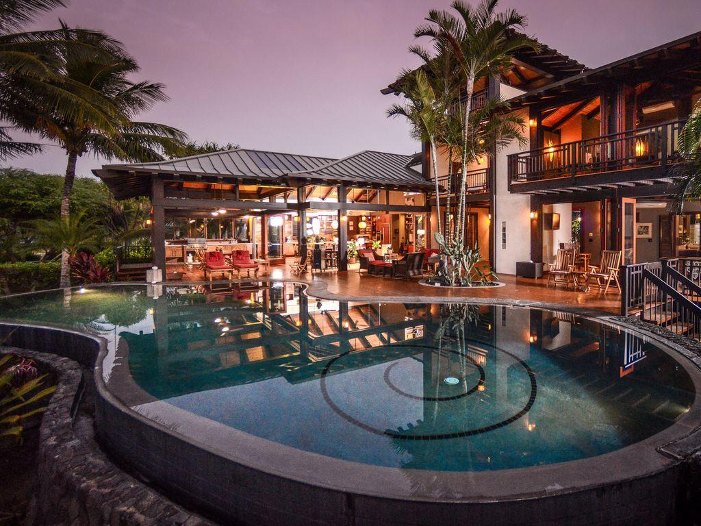 Stunning Puako Tropical Beach House Fabulous Sandy Beach