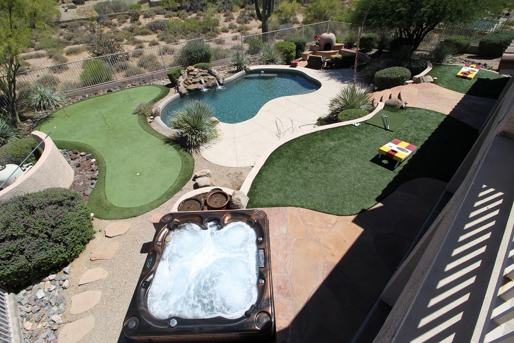 Luxury N Scottsdale Resort Living!Putting grn, Pool, Chef, Many Personal Touches
