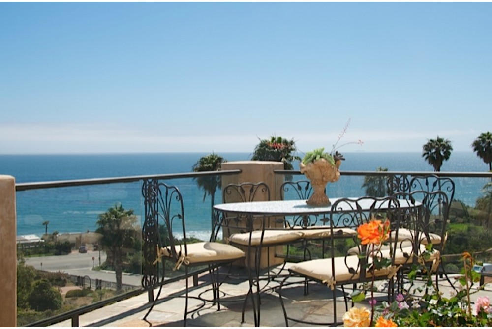 Malibu vacation rental with OCEAN VIEW  DINING