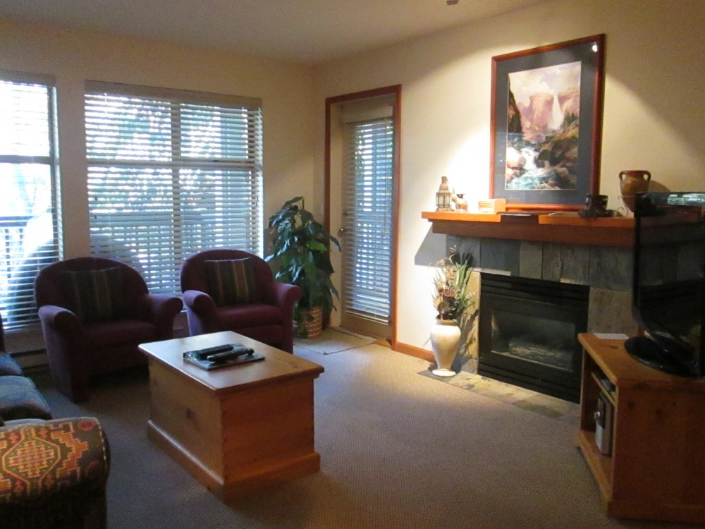 Whistler vacation rental with Living Room