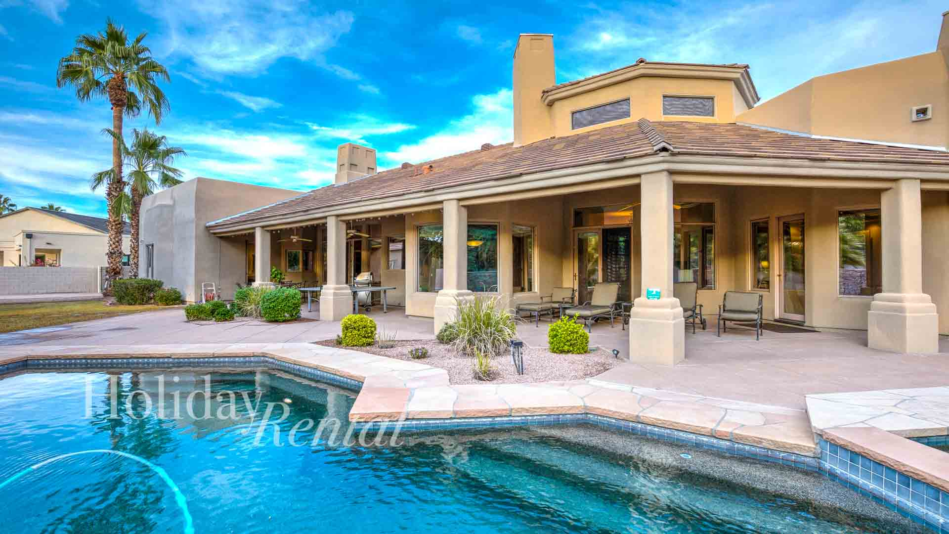 Great Scottsdale Rental - 6 bedrooms w/ Guest House has Private Tennis Court