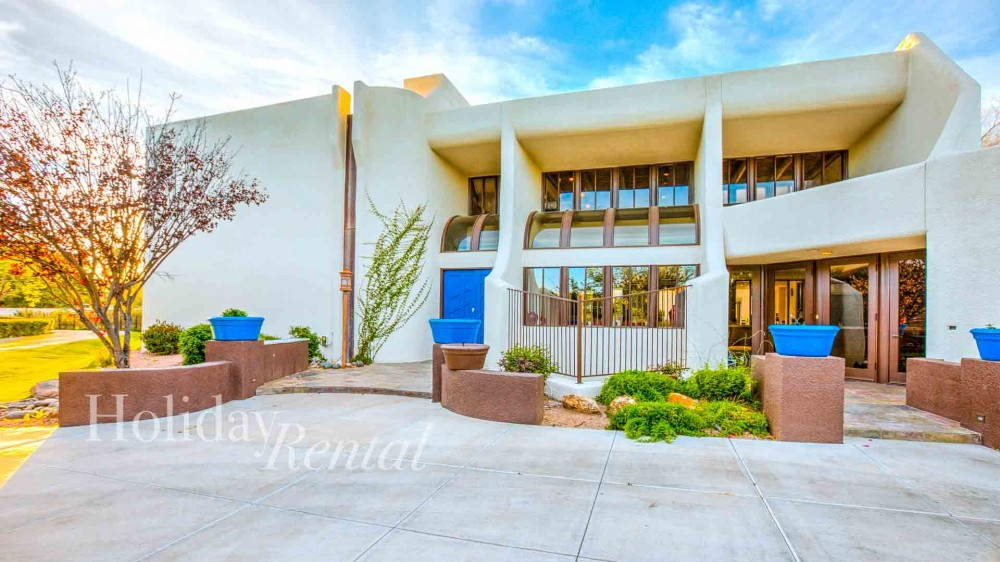 Scottsdale vacation rental with Front entrance of the house