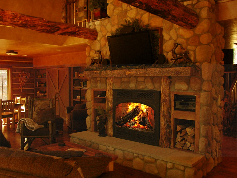 Allenspark vacation rental with Great Room/ Fireplace