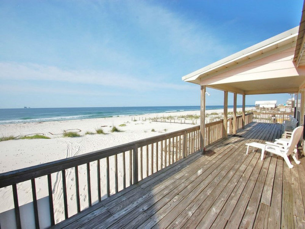 Gulf Shores vacation rental with Enjoy spectacular beach front views
