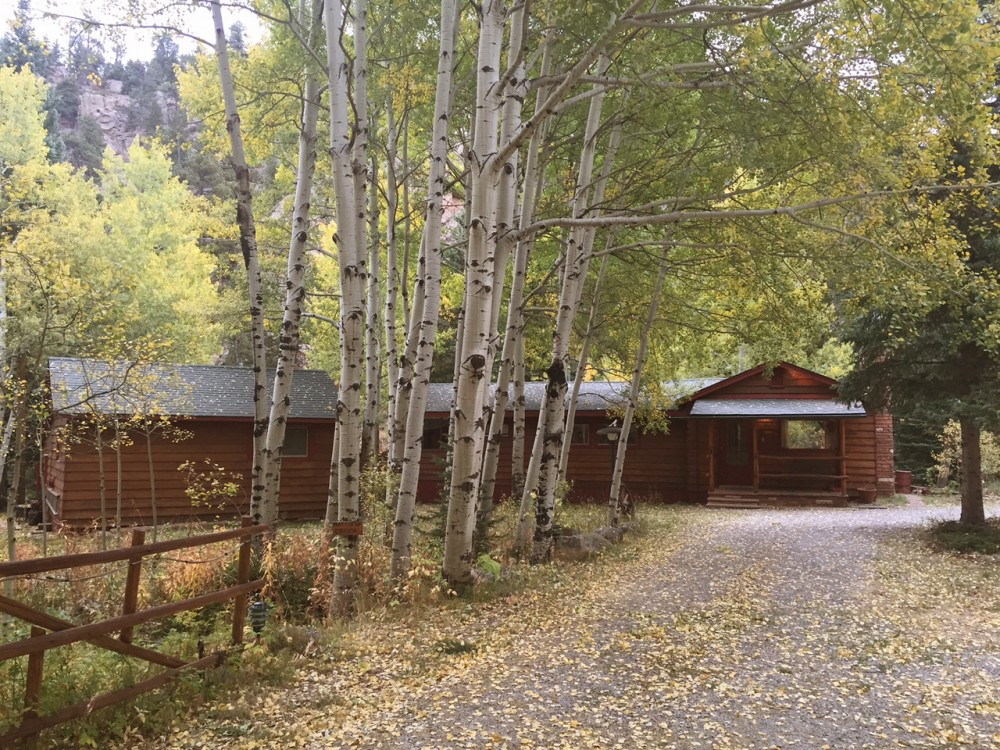 Lyons vacation rental with Cabin On The River
