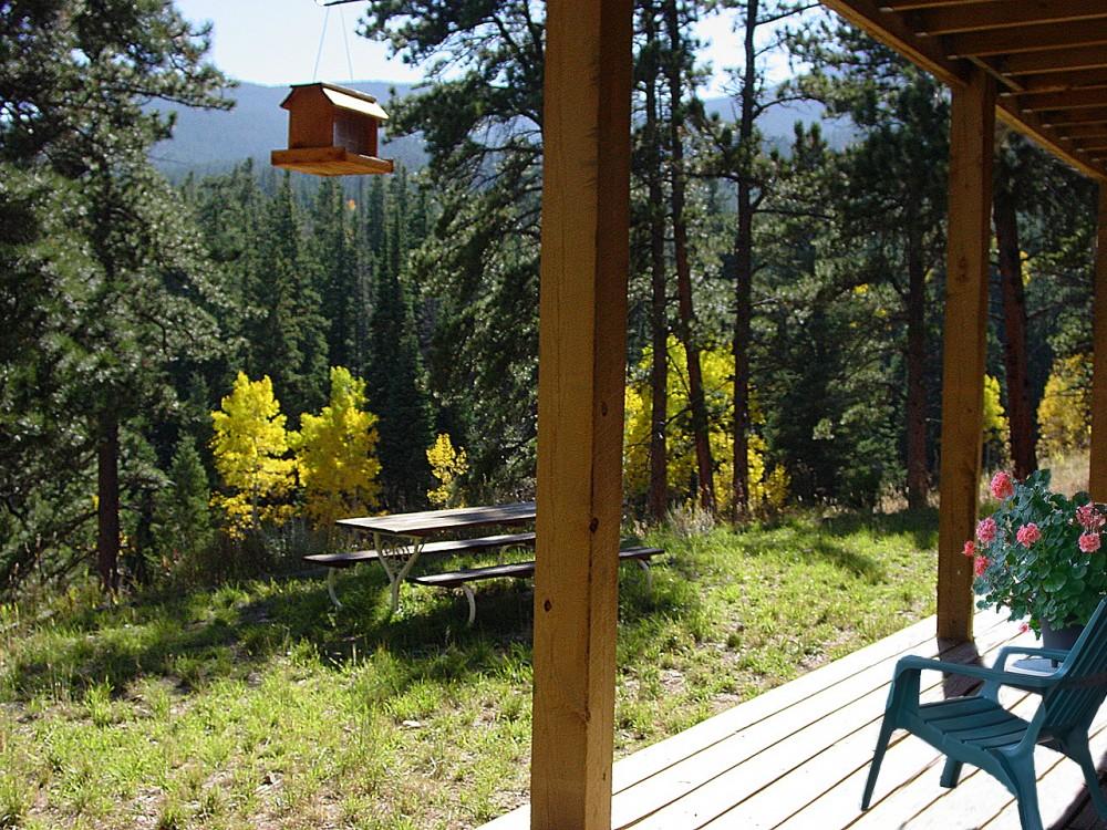 Allenspark vacation rental with A true refuge