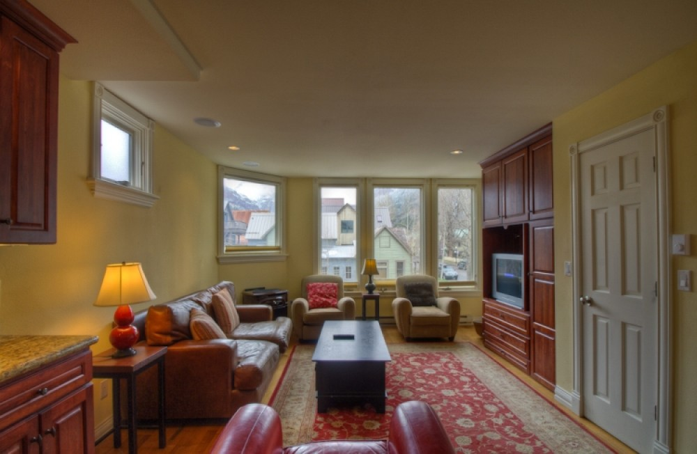 Telluride vacation rental with Living room witha view