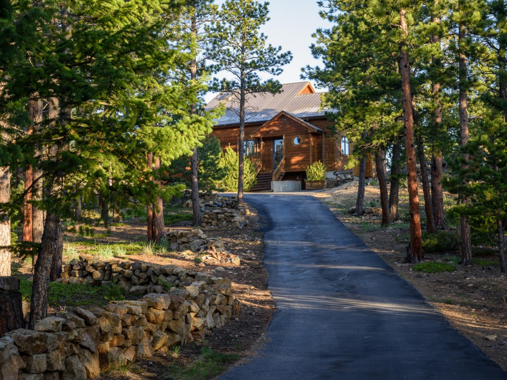 Lyons vacation rental with Sleeping Indian Cabin