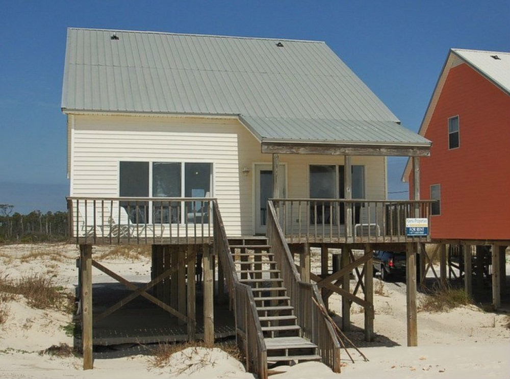 Gulf Shores vacation rental with Summer of  42 is Directly Beach Front