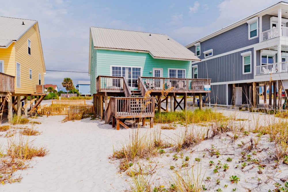 Gulf Shores vacation rental with Somewhere in Time 1 is Directly Beach Front