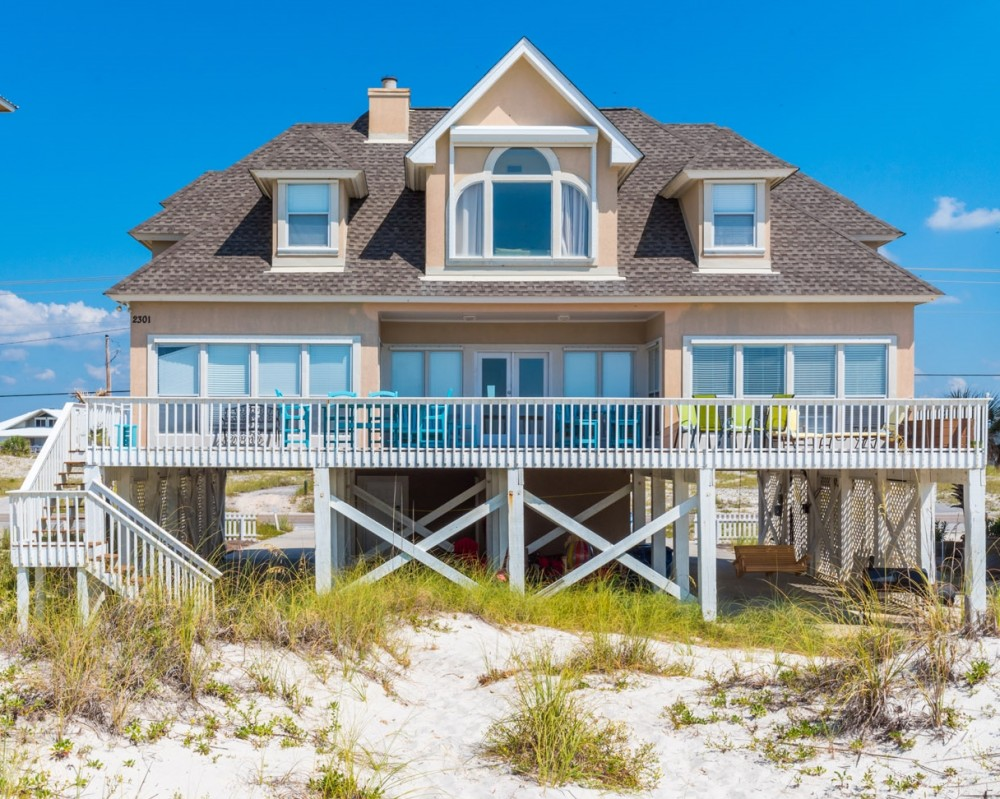 Gulf Shores vacation rental with There s no place like  Sunset Place