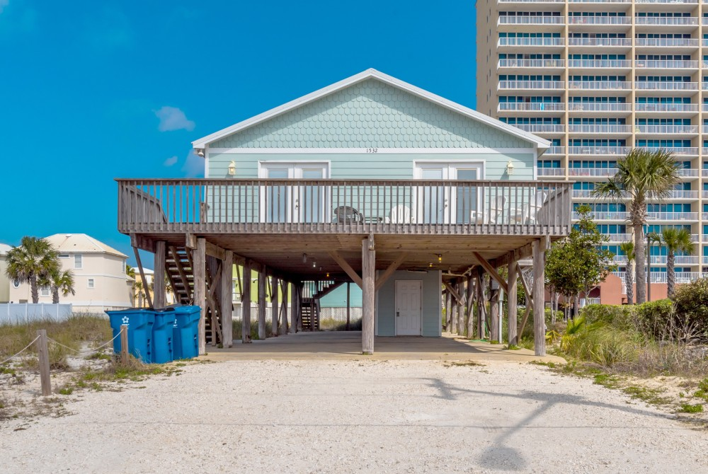 Gulf Shores vacation rental with This beach home is the very essence of luxury and rightly named   Blue Pearl