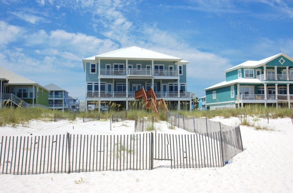 Gulf Shores vacation rental with Let this amazing beachfront home take away all your stress  Sleeps 26