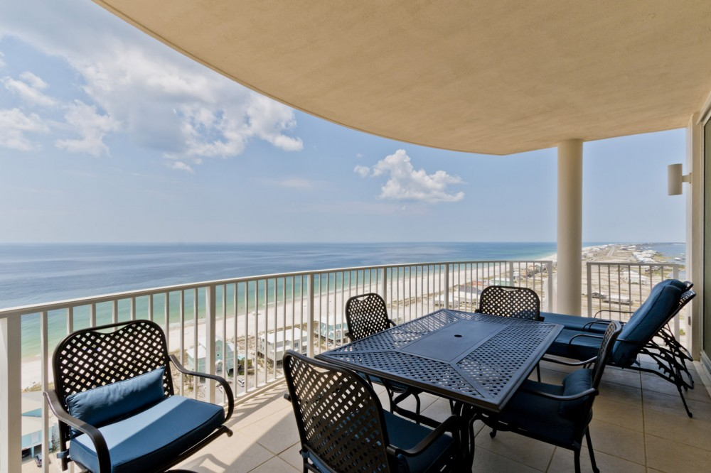 Gulf Shores vacation rental with Direct Gulf and Beach Views  18th Floor of Mustique Condo