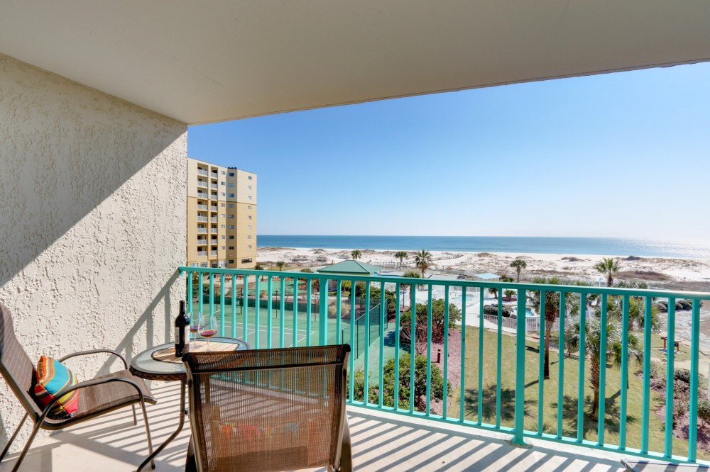Gulf Shores vacation rental with Enjoy the peaceful beachfront views from La Bella