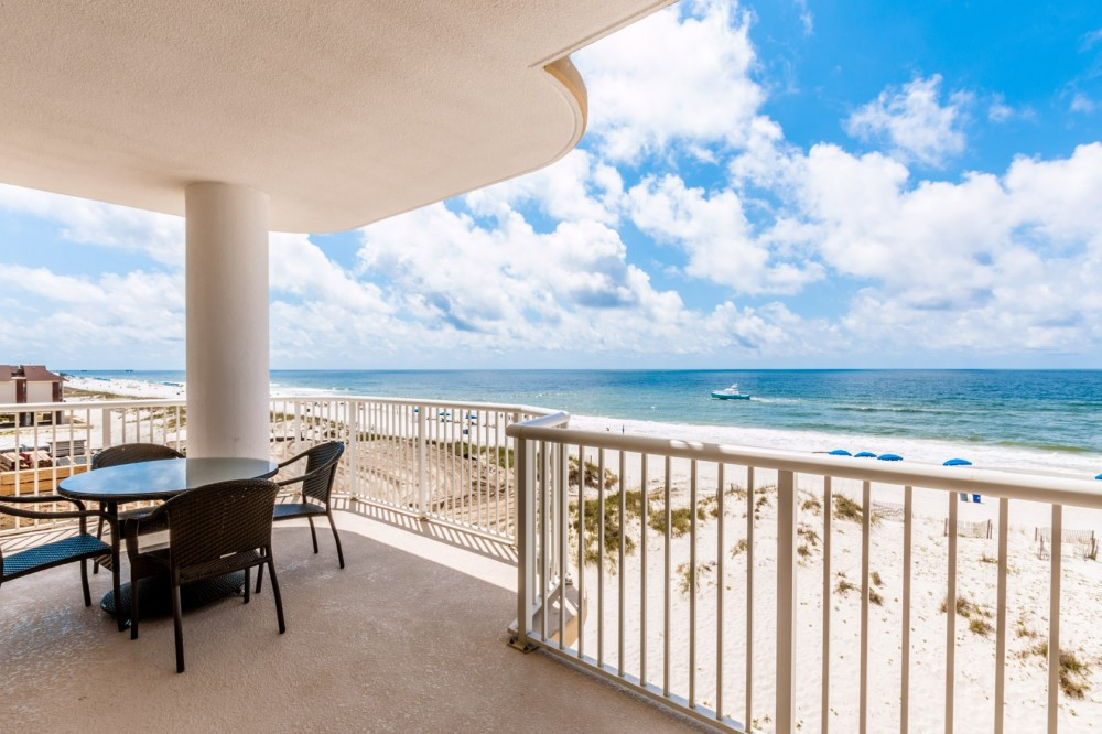 Gulf Shores vacation rental with Breathtaking View Of The Gulf From Your Balcony