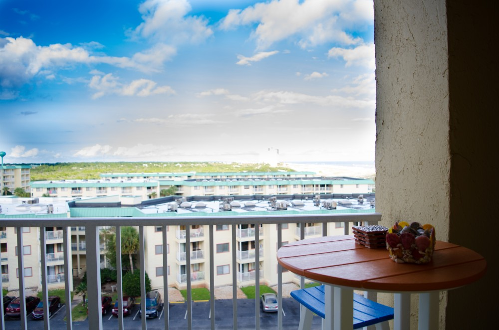 Gulf Shores vacation rental with Balcony View From The Master