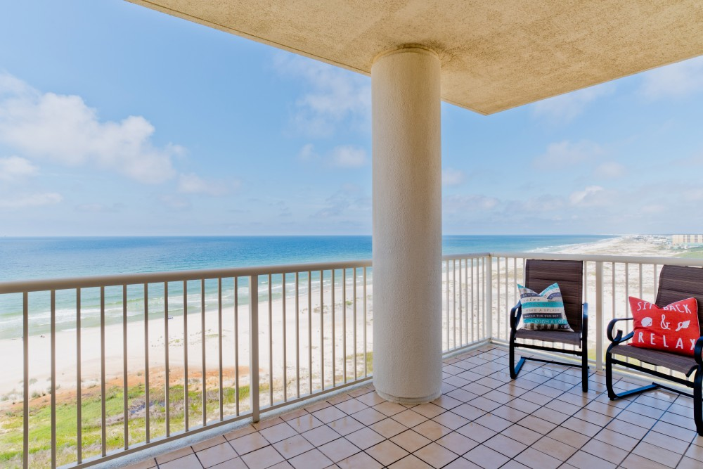Gulf ShoresGulf Shores vacation rental with Sunset Paradise Is A West Corner Unit With Breathtaking Views And Wraparound Balcony