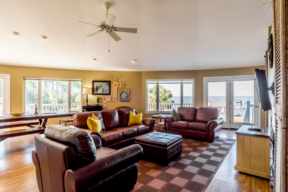 Gulf Shores vacation rental with Gorgeous Bay Views From The Living Area
