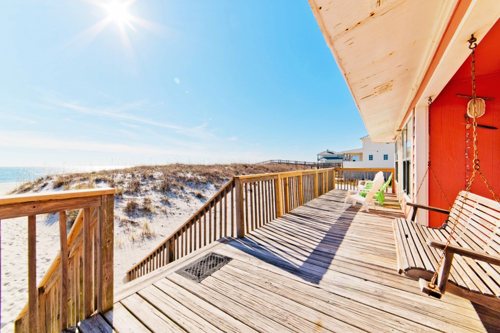 Gulf Shores vacation rental with Relax and Enjoy Beachfront Views