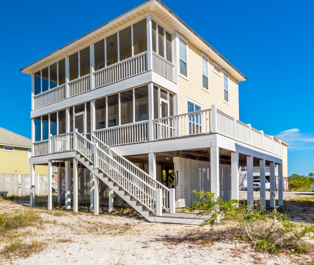 Gulf Shores vacation rental with Two Spacious Screen Porches