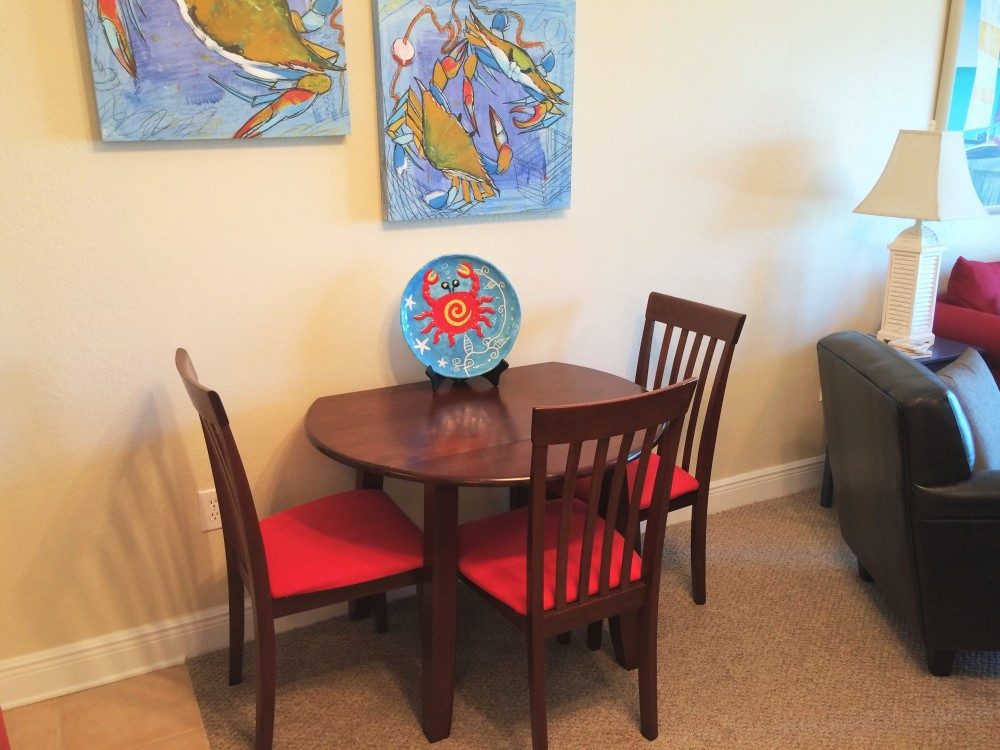 Gulf Shores vacation rental with Dining For 4