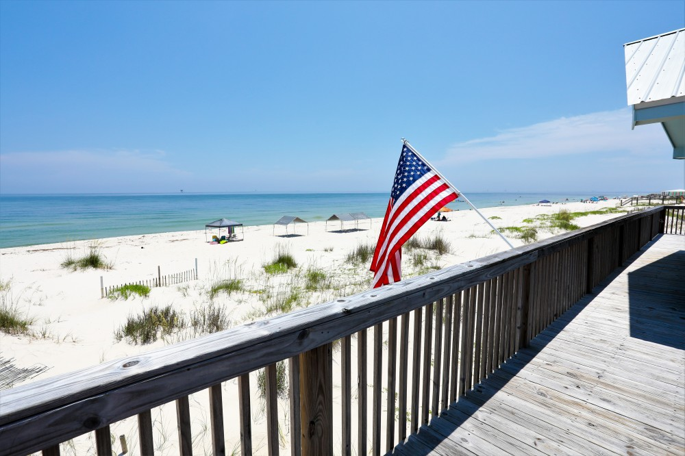 Gulf Shores vacation rental with Welcome to Dancing With the Waves