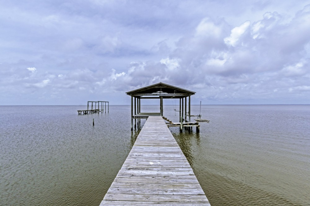 Gulf Shores vacation rental with Enjoy Fishing On Your Own Private Pier