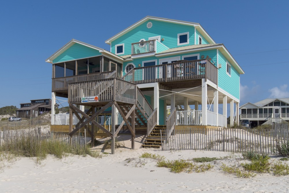 Gulf Shores vacation rental with Welcome To Alabama Dreamin