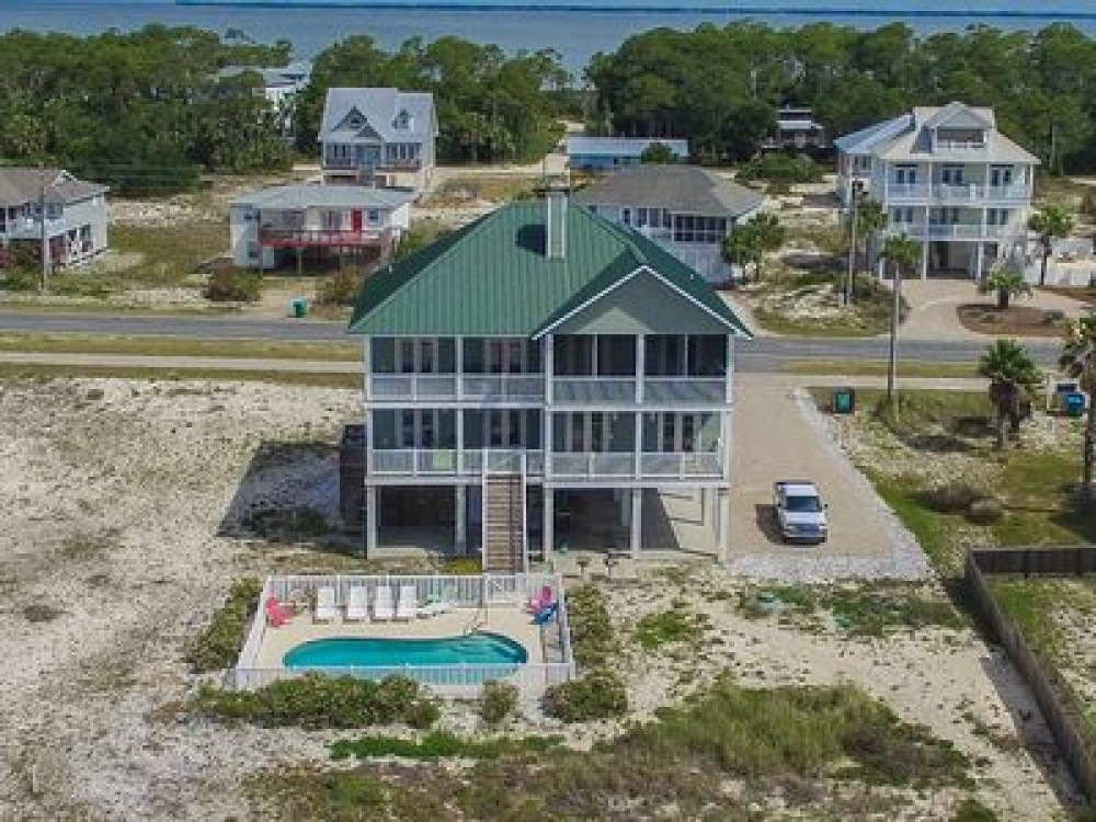 Saint George Island vacation rental with