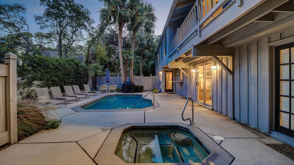 Hilton Head Island vacation rental with Pool is approx 20ft x 12ft