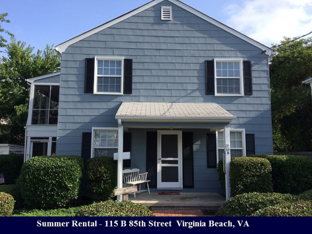 Virginia Beach vacation rental with Front of Home
