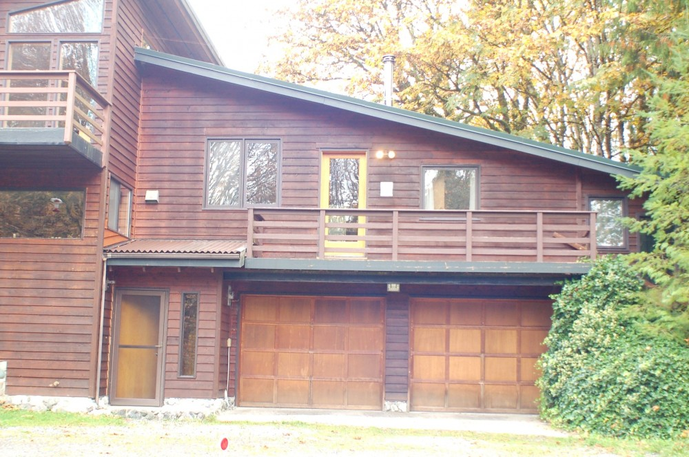 Glacier vacation rental with Front view
