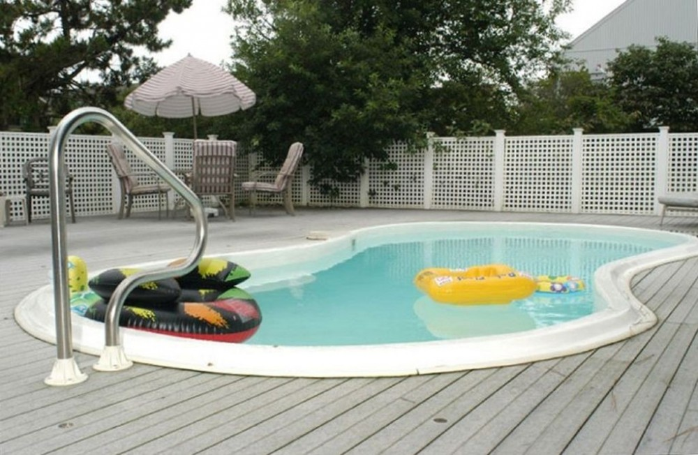 Fenwick Island vacation rental with heated pool