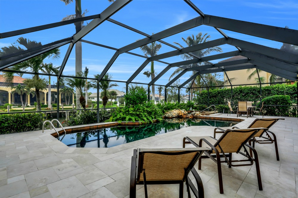 Marco Island vacation rental with Gorgeous private pool   spa oasis