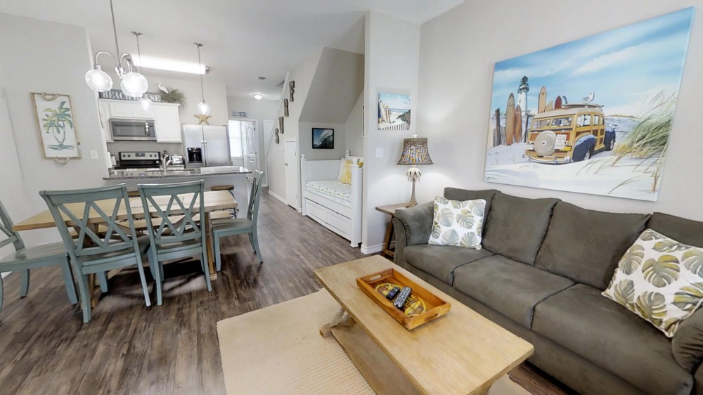 Corpus Christi vacation rental with Open Concept Living Space