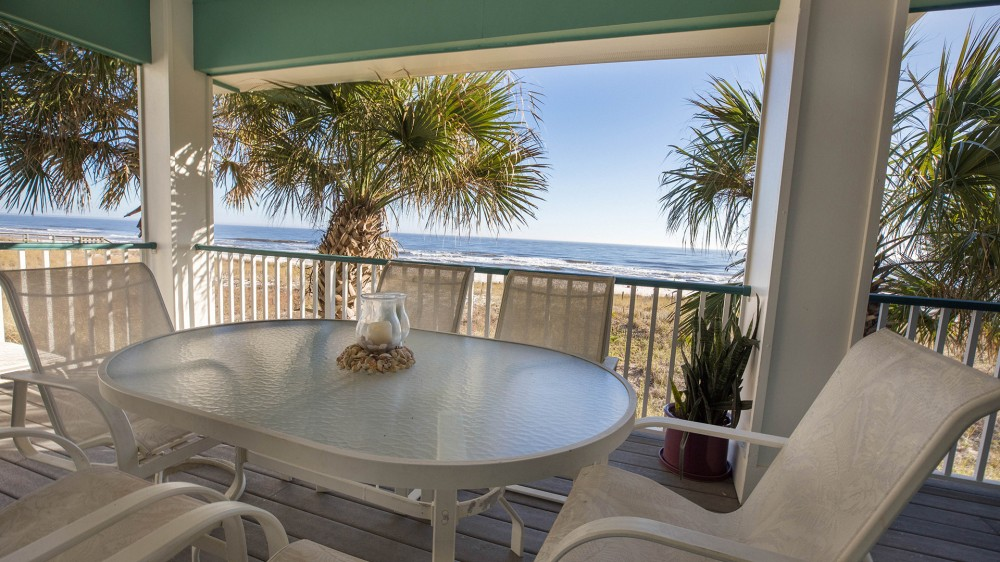 Pensacola vacation rental with Perdido Key - Perdido Beach House - Patio
