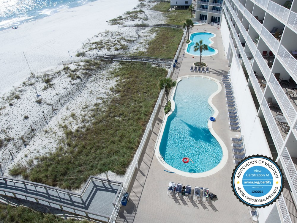 Gulf Shores vacation rental with View from Balcony