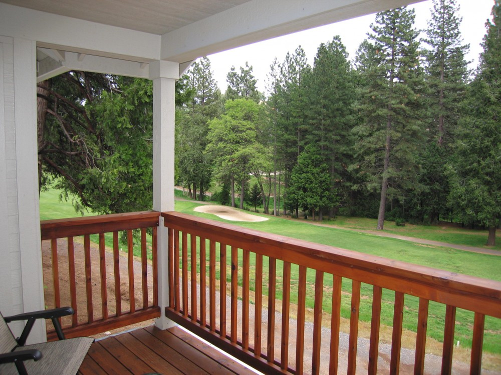 Murphys vacation rental with GOLF COURSE VIEW