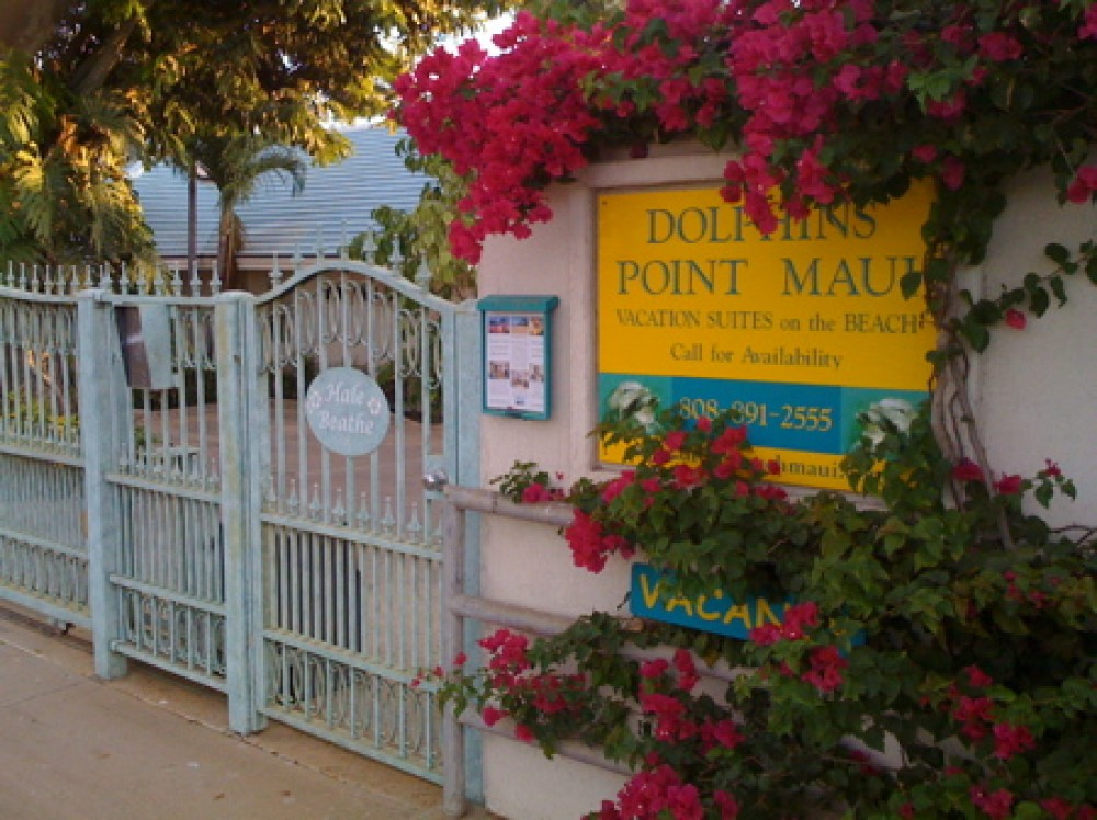 Kihei vacation rental with DOLPHINS POINT MAUI