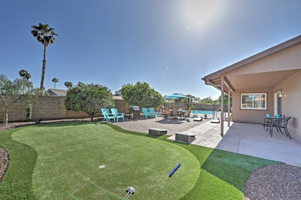 Turquoise House Scottsdale North Modern Pet Friendly 3br