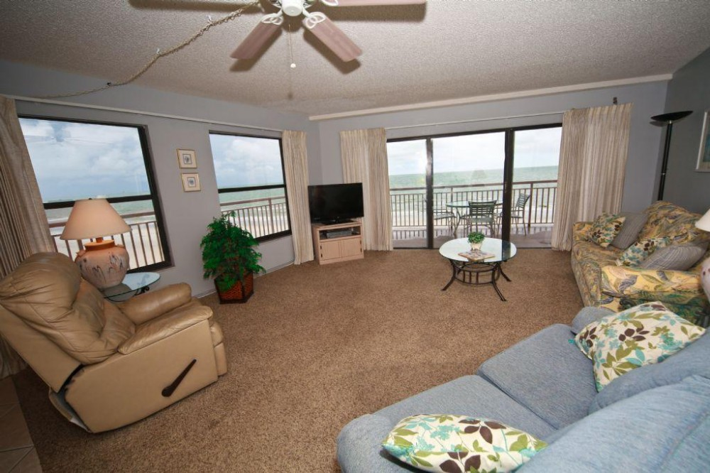 Indian Shores vacation rental with living room view