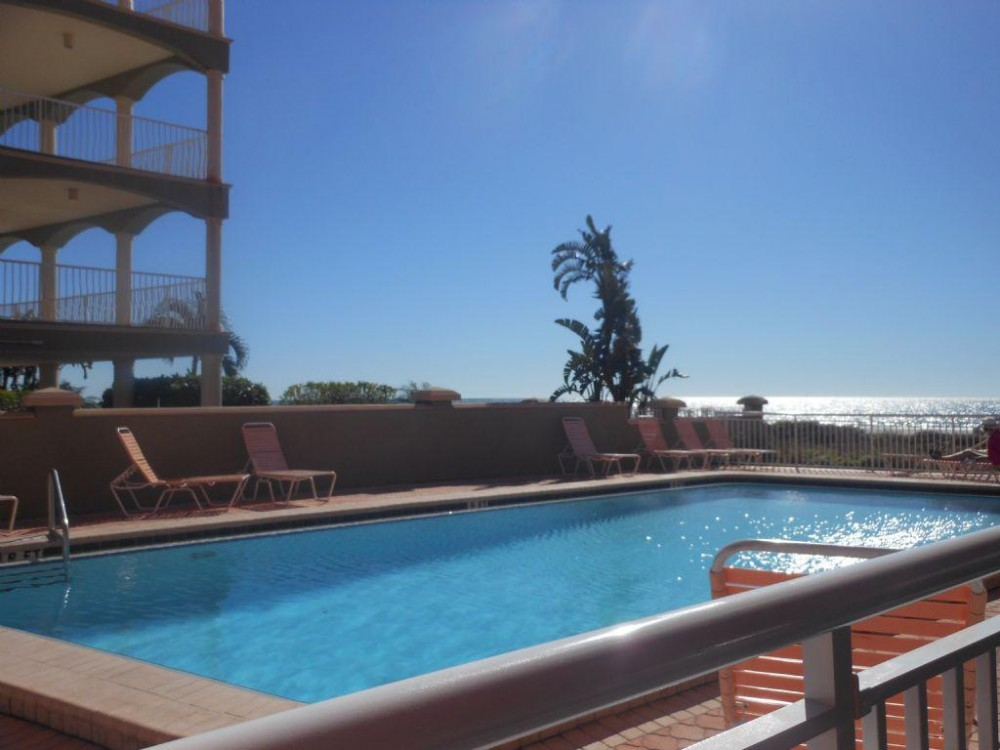 Indian Shores vacation rental with pool