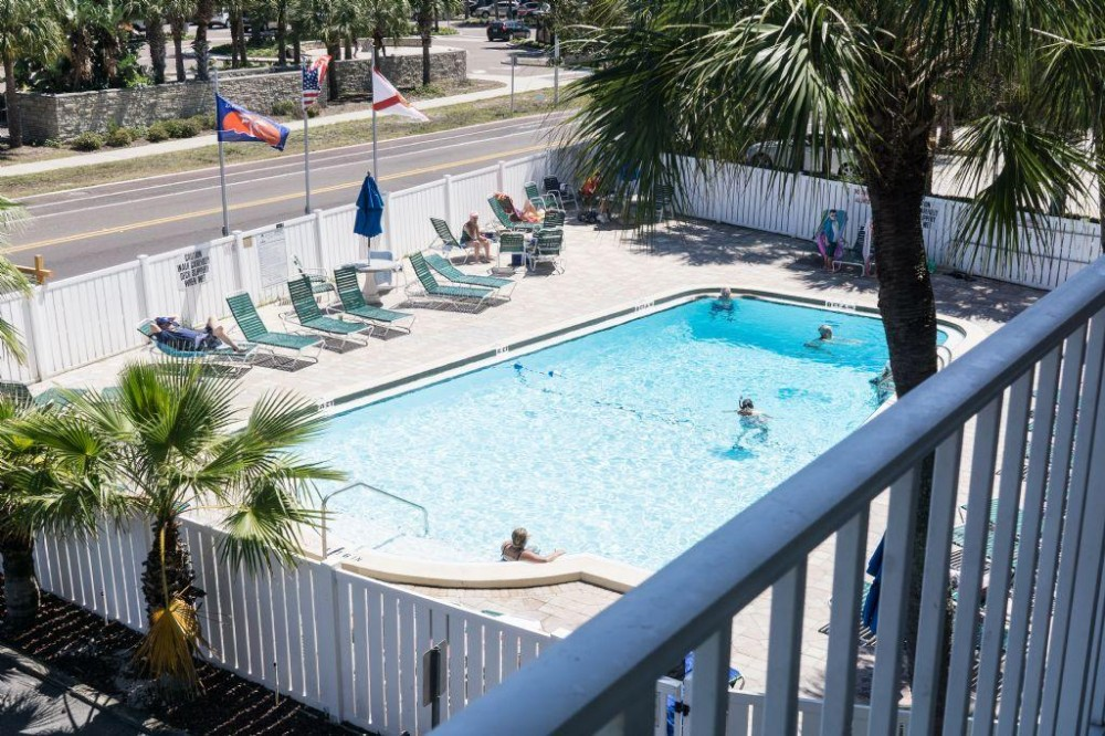 Indian Shores vacation rental with view of pool