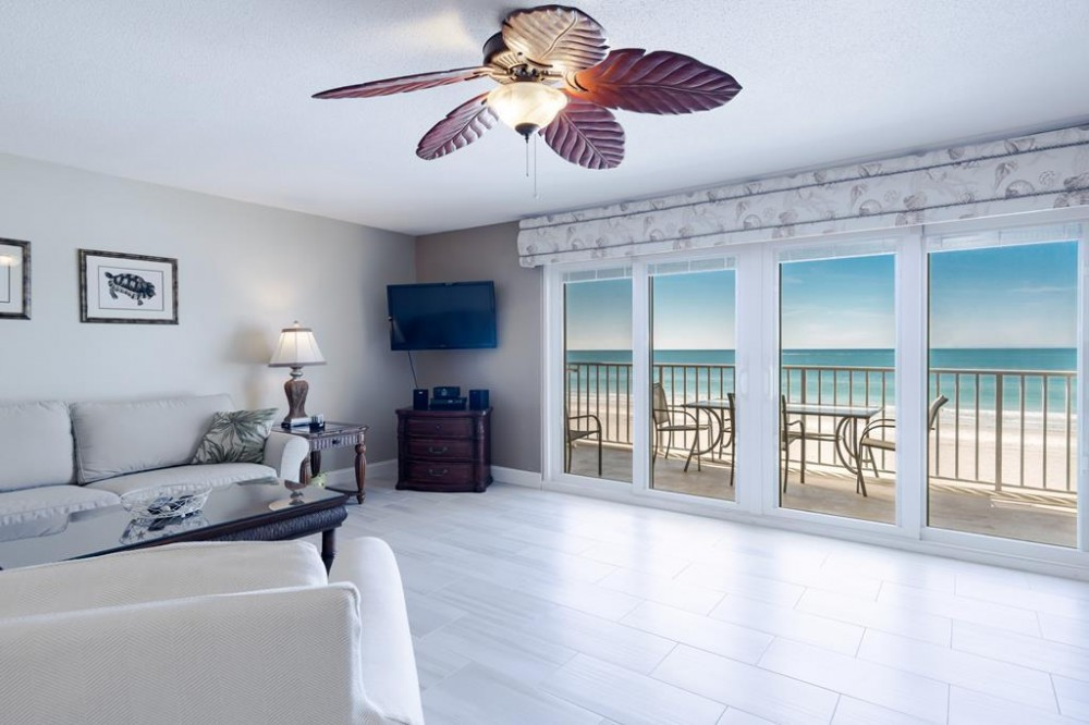 Indian Shores vacation rental with Direct Gulf front condo
