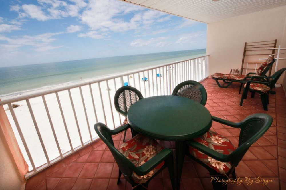 Indian Shores vacation rental with Balcony