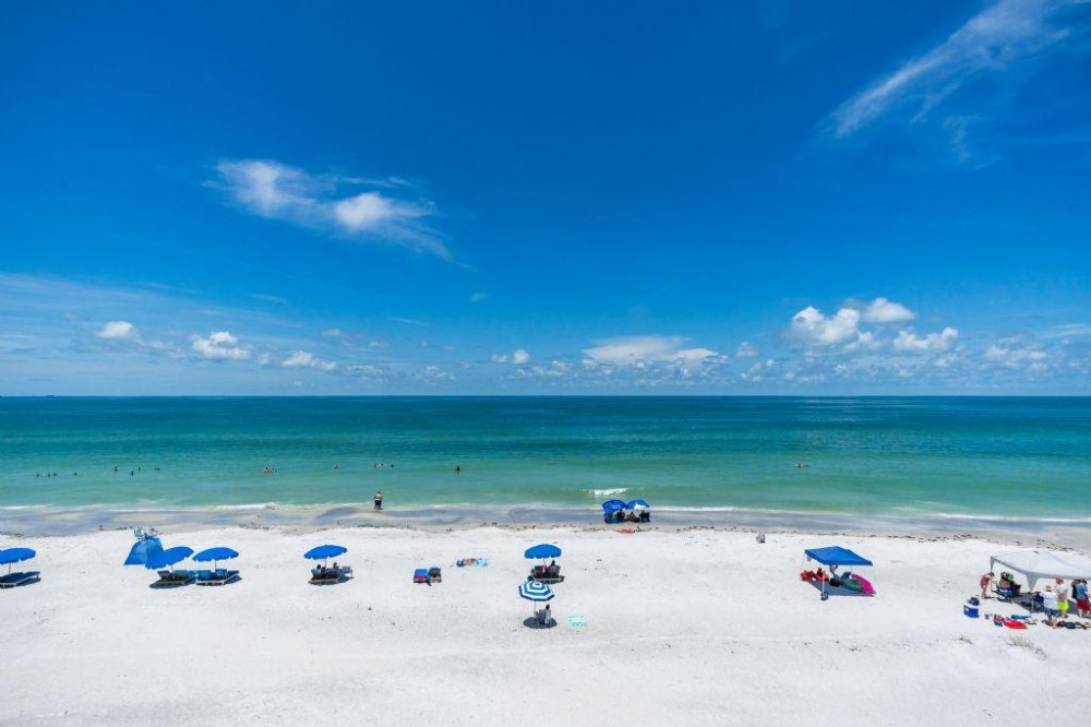 Indian Shores vacation rental with View from the Balcony