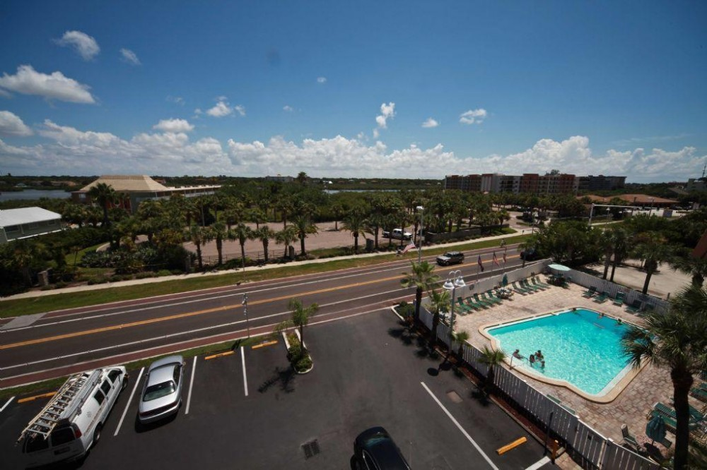 Indian Shores vacation rental with view and balcony