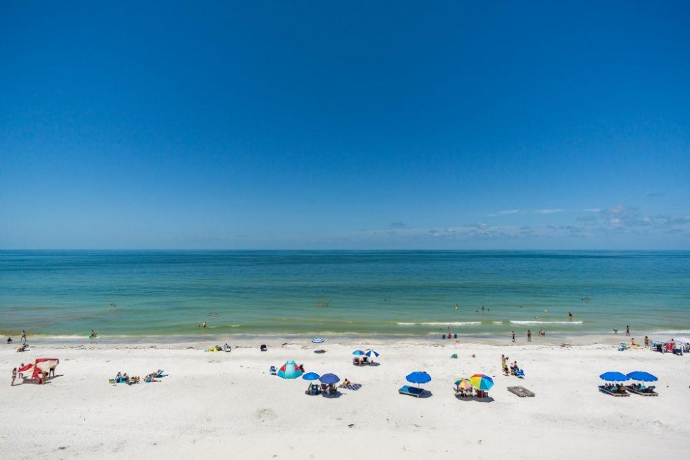Indian Shores vacation rental with View from Balcony